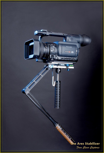DESCRIPTION<br /> The Ares, shown here in executive black finish with a large video camera mounted, is a professional, hand held, video camera stabilizer. It has been designed to meet the needs of professional film and video makers in the movie, television, wedding and advertising industries.<br /> The Ares is lightweight, compact, easy to set up, easy to adjust and easy to control. It incorporates lightweight, aviation grade aluminium components with a self weight of only 1.2kg making this one of the lightest professional stabilizers in the world. This greatly eases the physical workload and enables professional film and video makers to shoot steadily for long periods of time.<br /> <br /> EXQUISITE WORKMANSHIP AND HIGH QUALITY<br /> <br /> The Ares stabilizer is produced on an internationally advanced CNC production line incorporating a surface treatment process of international advanced precision aviation specifications.