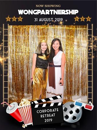 "Wong Partnership | Corporate Retreat 2019 ""Hollywood theme"" instant print photo booth @ Lotte Hotel Hanoi | Chụp ảnh lấy ngay Sự kiện tại Hà Nội | Photobooth Hanoi"