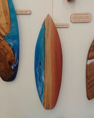 """28"""" Oahu Eucalyptus with Hammerhead Shark"""