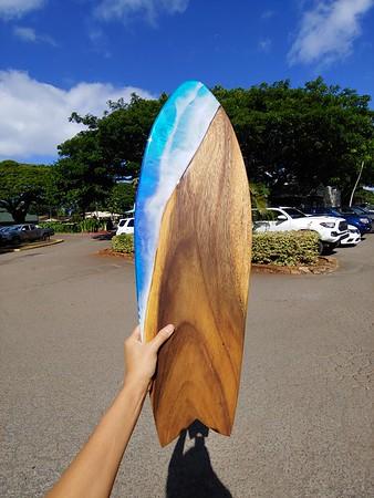 "28"" Oahu Monkeypod"
