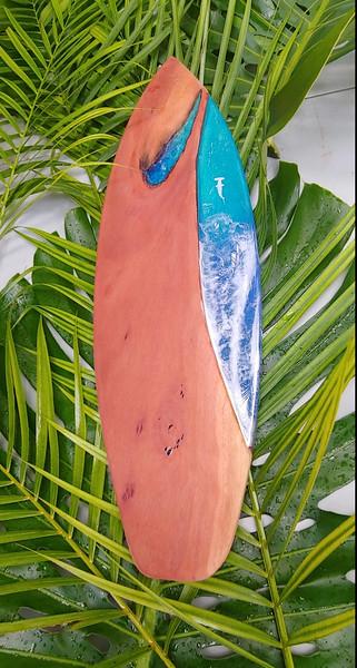 "28"" Oahu Eucalyptus with Hammerhead Sharks"
