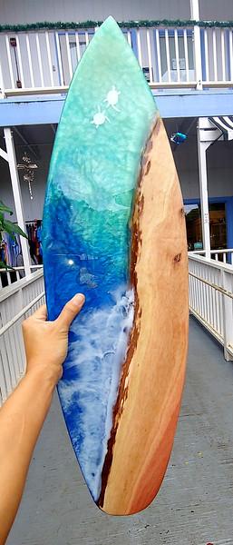 """28"""" Oahu Eucalyptus with Honu"""