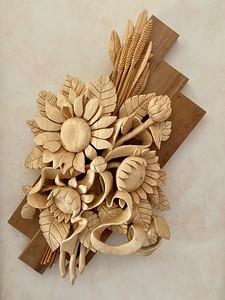 Variation on a Sunflower Theme by Alexander Grabovetskiy
