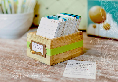 Earth Day Journal Box - Eco Friendly Reclaimed Wood