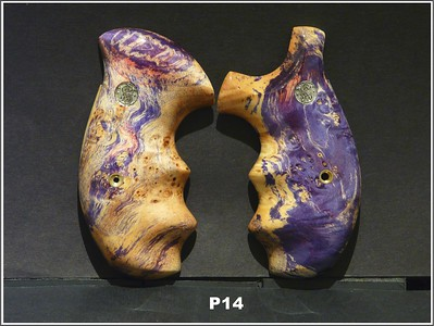 Burl. Purple-Pink Stabilized Box Elder