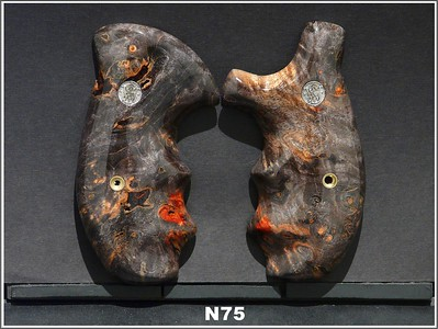 Burl, Black-Red Stabilized Maple