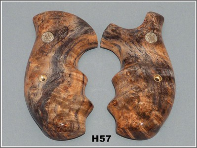 Burl, Blue-Black Stabilized Maple
