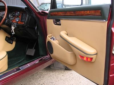 American Burr walnut in a Series 3 XJ12