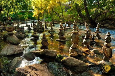Stone Cairn Art