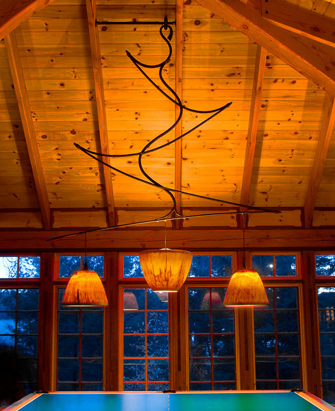 Squam Lake Chandelier '07
