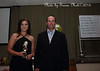 """Bron Pollack, Captain of Binalong's """"Jersey Girls"""" League Tag time, had a big night, leading try scorer in Woodbridge for 2015 and Player of the Year."""