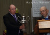 """Andrew Pull holds the old """"Koorawatha Cup""""."""