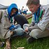 Discussion chef / scout autour d'une encoche