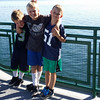 Nic.... Sam....Hunter....good picture guys...ferry from Whidbey Island to Port Townsand.