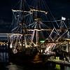 El Galeon at night in St. Augustine, Florida