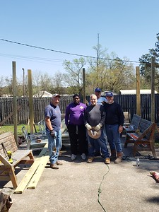 Dennis Mountz - Replant Posts for Pergola 03202021 1