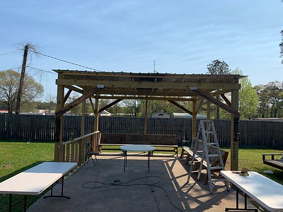 Dennis Mountz - Finished Pergola 03252021