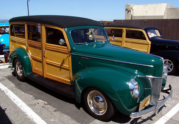 Woodie Car Show  Santa Cruz 2005