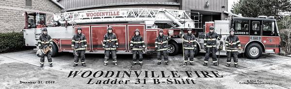 Woodinville Fire, Ladder 31 B-Platoon