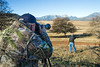Woodland Camera Forum members Rod Bradford, Forrest Oldham, Kime Toyama and Ed Andersen's impromptu wildlife photography road trip north of Woodland, Saturday, December 26, 2015.<br /> Rod & Kime photograph Elk on the distant hillside.