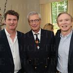 Aldy Milliken, Dr. Louis Heuser and Dr. Greg Brown.