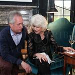 Mayor Greg Fischer and Diane Rehm.