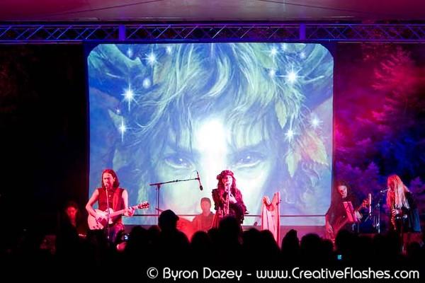 Live at Faerieworlds 2008 - by Byron Dazey