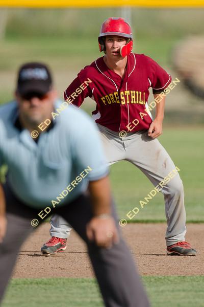 Woodland Christian School v. Foresthill; Boys Varsity Baseball at Trafican Field, Woodland.