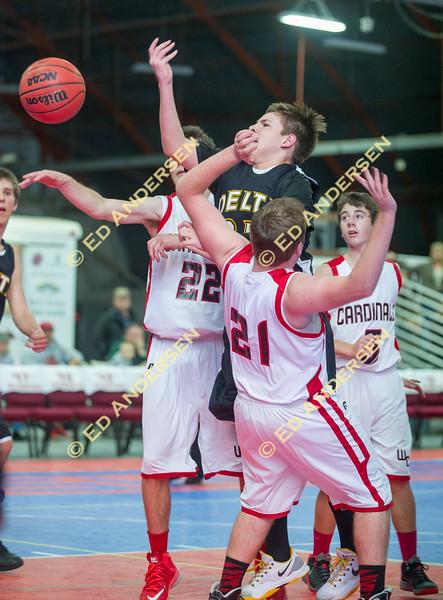Woodland Christian School v. Delta, JV Basketball