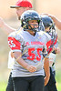 Woodland Christian School Jr. Cardinals Jr. Midgets football action vs. Dixon; Sept. 16, 2017.