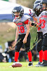 Woodland Christian School Jr. Cardinals PeeWee football action vs. Dixon; Sept. 16, 2017.