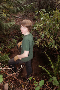 Jack really was in a great mood this day.  He was motivated to make money for a dirt bike and he was genuinely interested in how to put together the ecosystem for the new plant.