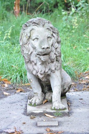 There are two lion statues (amazingly enough just after you leave the lion area!) that were contributions to the zoo. I love all the statuary at WPZ.