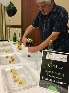 "JIM SMITH - DAILY DEMOCRAT The theme of the 2018 Woodland Chamber of Commerce Installation was ""Fairway to Prosperity."" In view of that, Scotch wisky was served by chamber volunteers."
