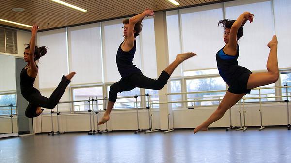 Dance Company Rehearsals