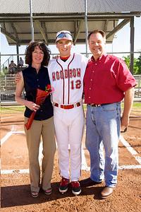 Baseball - Varsity Senior Night 14