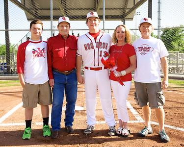 Baseball - Varsity Senior Night 15