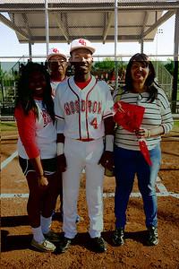 Baseball - Varsity Senior Night 19
