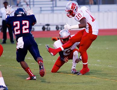 Football - Varsity vs Kimball 58