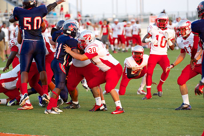 Football - Varsity vs Kimball 24