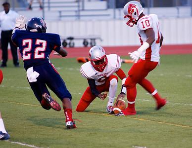 Football - Varsity vs Kimball 57