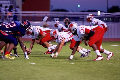 Football - Varsity vs Kimball 73