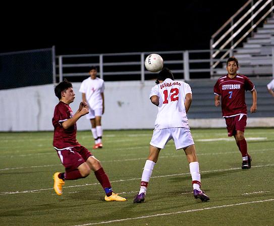Soccer - Boys JV vs TJ 1.28.15
