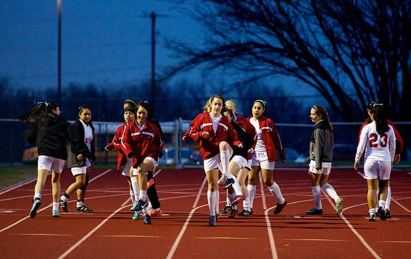 Soccer - Girls Varsity vs BA 3.20.15