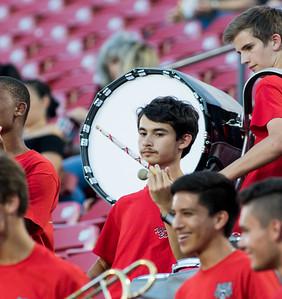 Band at Frisco Game-8