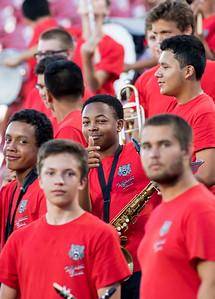 Band at Frisco Game-4