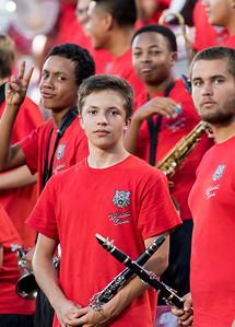 Band at Frisco Game-5