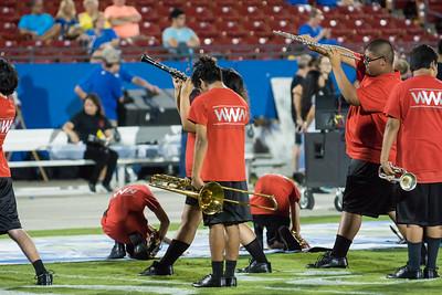 Band at Frisco Game-24