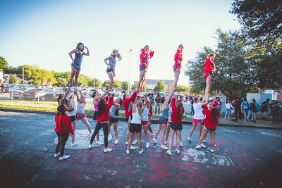 Cheer Practice Outside-6