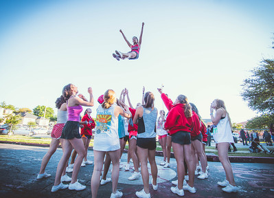 Cheer Practice Outside-18